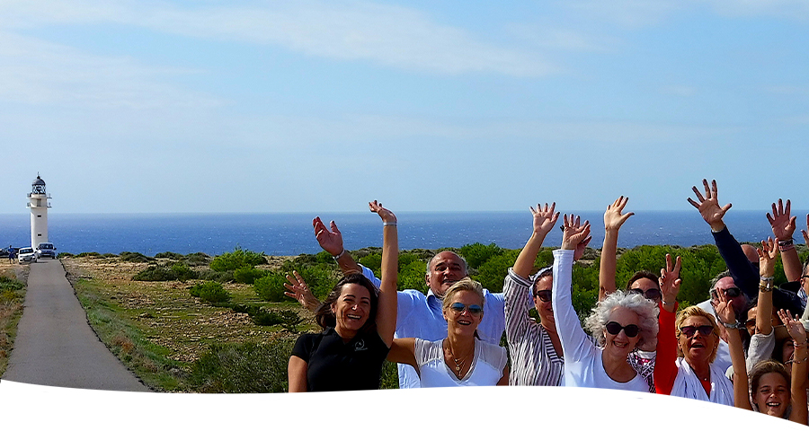Tourist services for groups in formentera