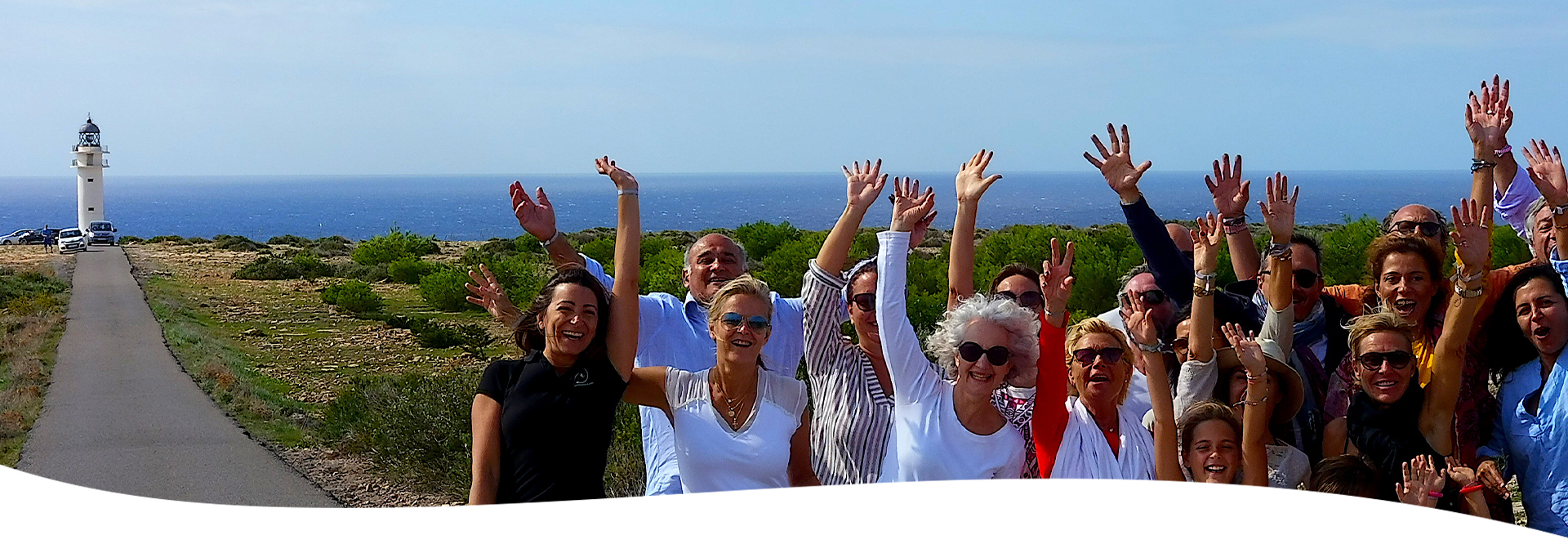 Travel for groups in Formentera