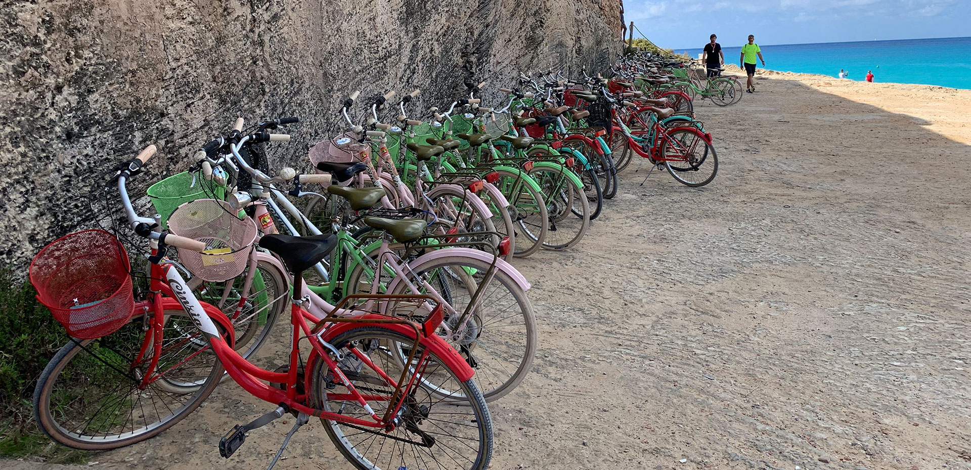 bicycles for groups in formentera