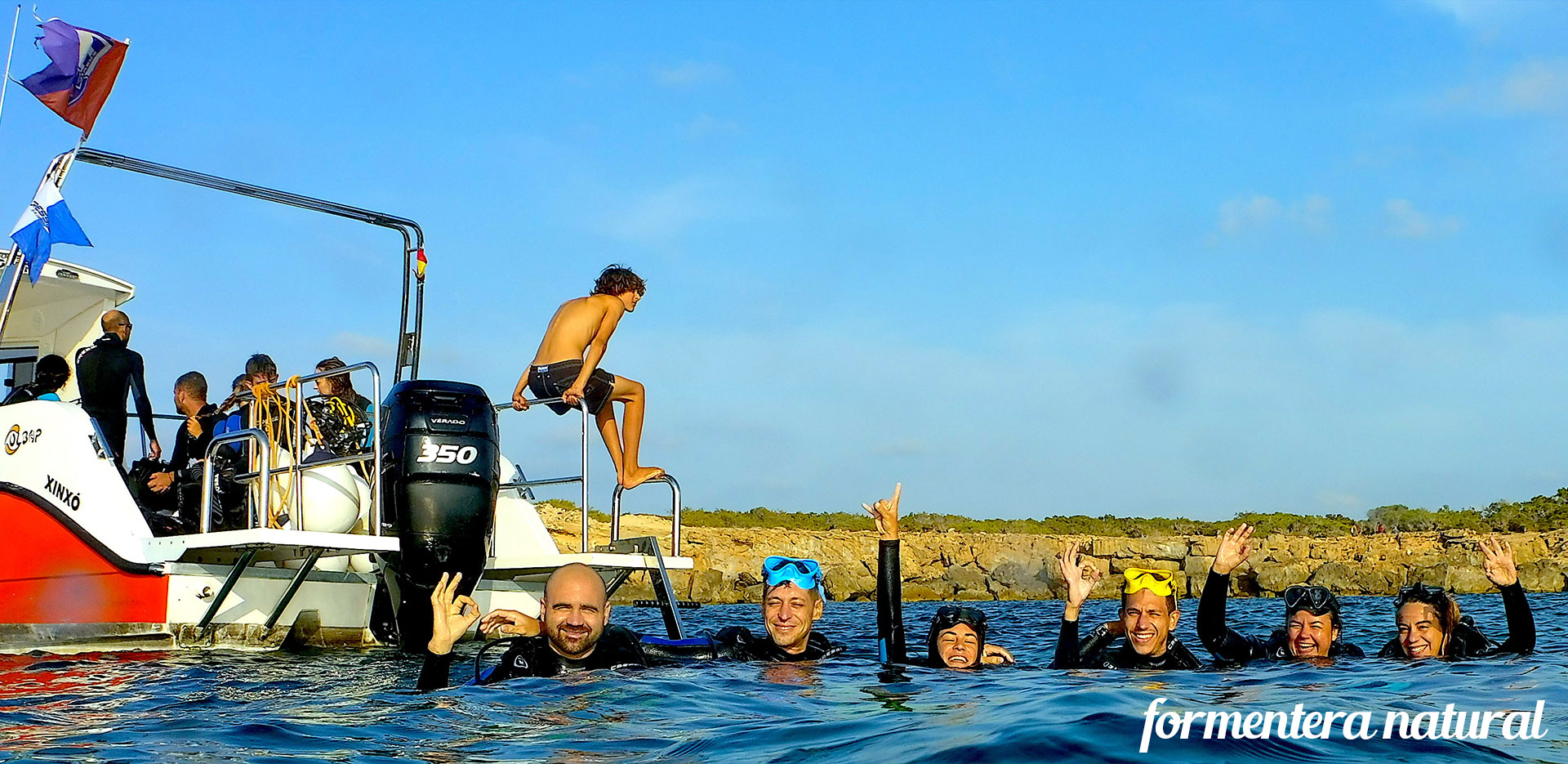 diving from ibiza to formentera